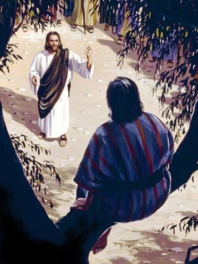 zaqueu e jesus